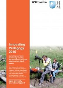 Innovating Pedagogy cover 2015
